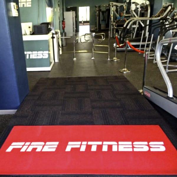 Tapis Anti-salissure Fire Fitness