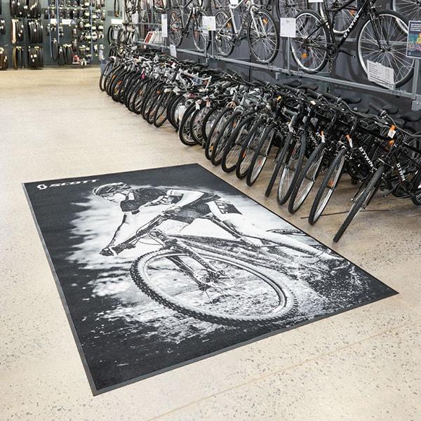 Tapis Anti-salissure Mag Vélo